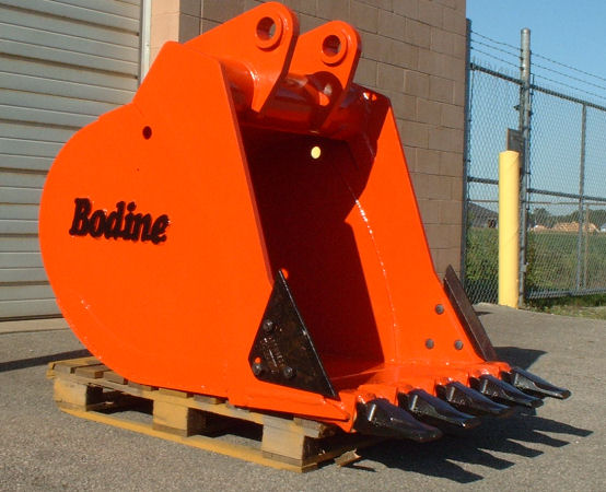 Bodine Mfg. High Capacity Bucket Equipment