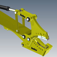Bodine 'Contractor Series' Metal Shear for the Demolition and Recycling Industries.