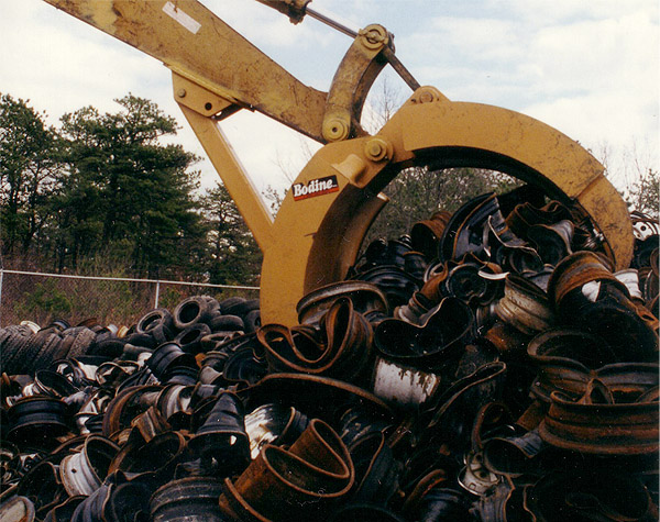 Bodine Mfg. All Pro Refuse Grapple, Scrap Yard Recycling, RG