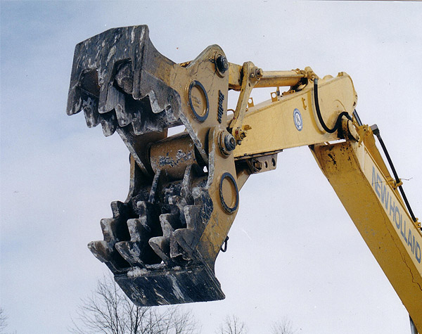 Bodine Mfg. All Pro Concrete Pulverizer and Densifier, Ideal for Concrete Recycling and feedind Concrete grinders, APCP