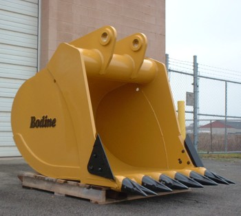 Custom Designed Buckets are Available from Bodine Mfg. for Your Excavator of Choice!