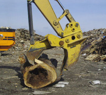 Stump Shears are Available from Bodine Mfg. for Your Excavator of Choice!