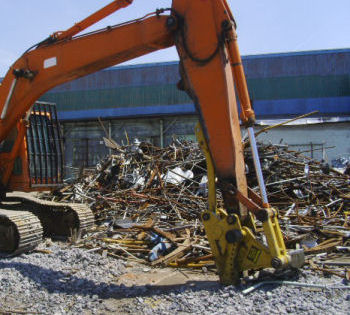 Bodine Metal Shears are Available from Bodine Mfg. for Your Excavator of Choice!
